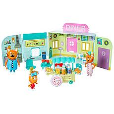 Игровой набор фигурок с аксессуарами Три кота: Мини кафе, фото 2