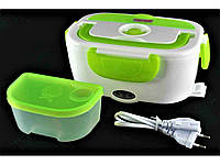 Ланч бокс электрический автомобильный 0,6л и 0,45л  пищевой контейнер с подогревом, термобокс 3166YY А-Плюс
