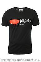 Футболка мужская PALM ANGELS 20-1065 чёрная, фото 1
