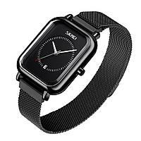 Skmei 9207 черные женские классические наручные часы, фото 1
