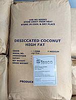 Кокосовая стружка, 25кг мешок, 65% жирность, средняя medium, Индонезия, фото 2