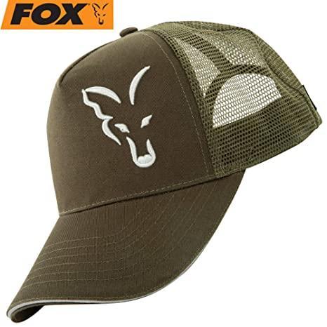 Кепка Fox green / silver trucker cap