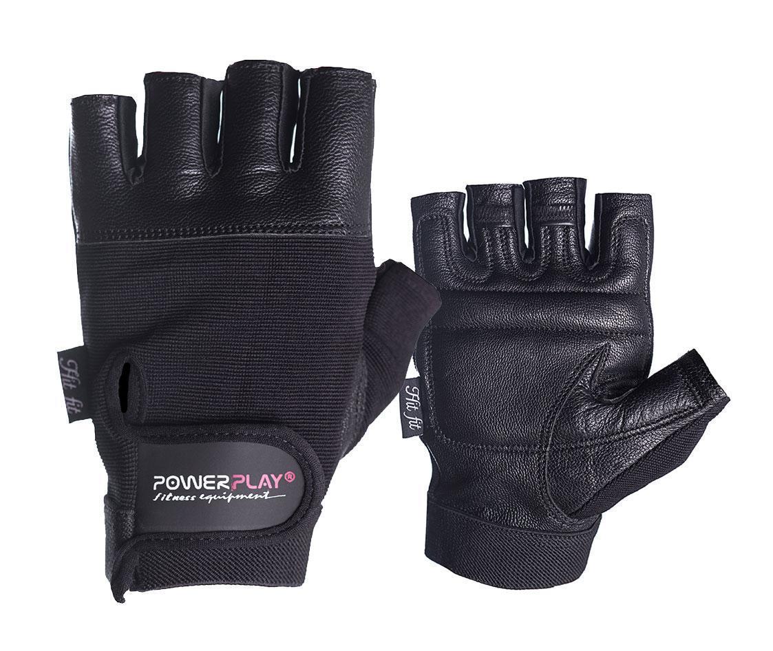 Рукавички для фітнесу PowerPlay 2227 Чорні S