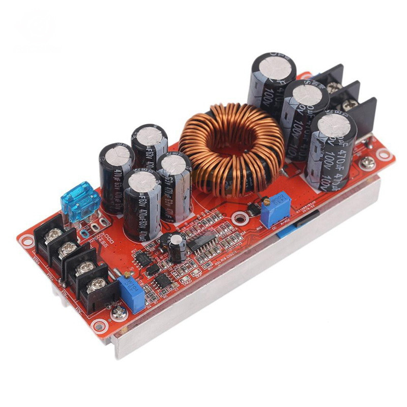 1200Вт, 20А Підвищуючий перетворювач з регулюванням напруги, струму, 10-60В до 12-83В
