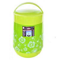 Термос пищевой 1,8 литра с железной колбой (пищевой пластик) C-136 Shunxin
