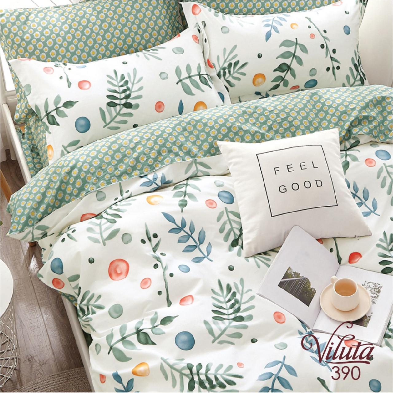 Комплект постельного белья сатин 390 Viluta Евро