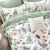 Комплект постельного белья сатин 390 Viluta Евро, фото 1