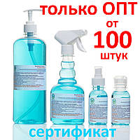 Антисептик для рук, санитайзер CLEAN HANDS - 100 мл, 500 мл, 1 литр, 5 литров - ОПТ