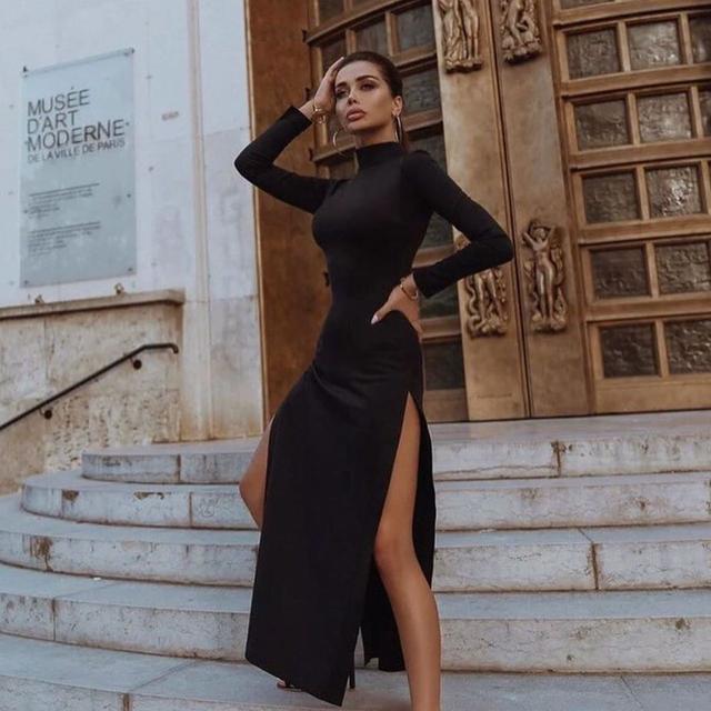 лентее женское платье миди