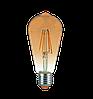 Світлодіодна лампа EGE LED Filament 6W ST64, фото 5