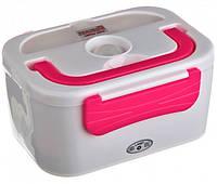 Ланч бокс электрический автомобильный 1,2 л пищевой контейнер с подогревом, термобокс 3066YY/12v А-Плюс