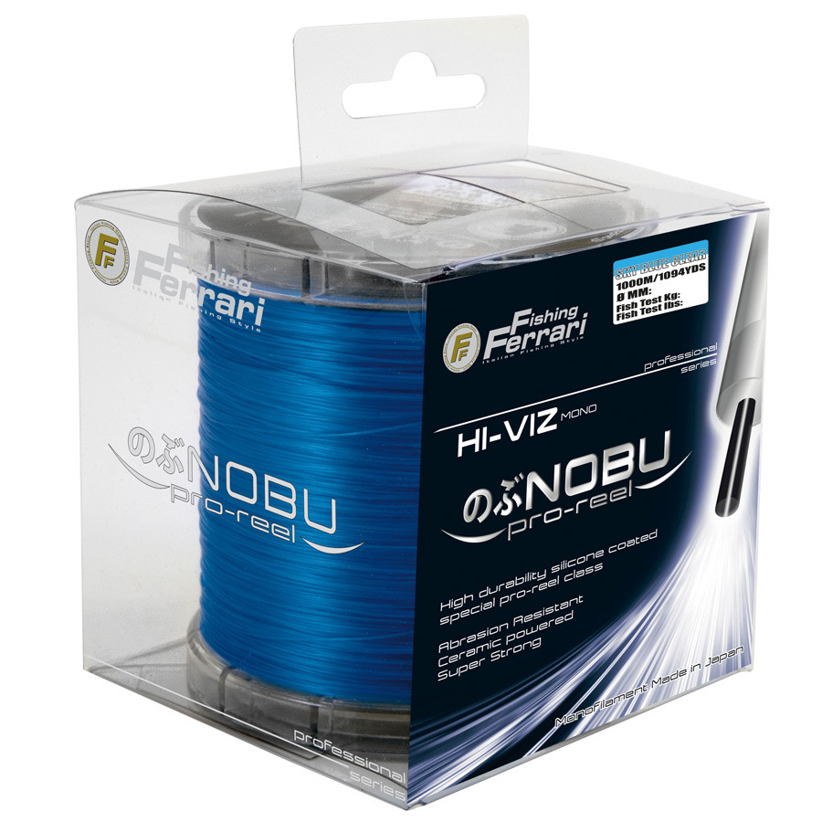 Леска Lineaeffe FF NOBU  Pro  Reel 0.40мм 1000м. FishTest-19,50кг Sky Blue (голубой)  Made in Japan