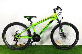 """Спортивний велосипед 26 дюймів Azimut Extreme FRD рама 14"""" GREEN"""