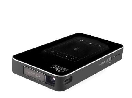 Мультимедийный карманный проектор с динамиком T18 Android видеопроектор Wi-Fi 4K