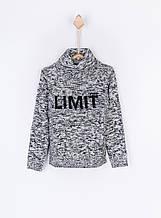Детский пуловер для мальчика TIFFOSI Португалия 10018612 серый