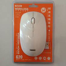 Беспроводная USB мышь Remax G20 White