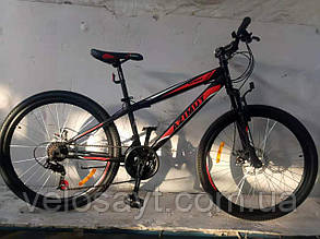 "Спортивный велосипед 26 дюймов Azimut  Extreme FRD рама 14"" BLACK-RED, фото 2"