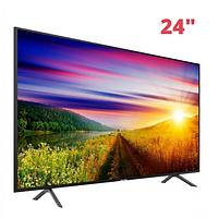 "Телевизор COMER 24"" Smart TV LCD LED WiFi, Original, 1Gb Ram, 4Gb Rom, T2, USB/SD, HDMI, VGA, Android 4.4, Black"