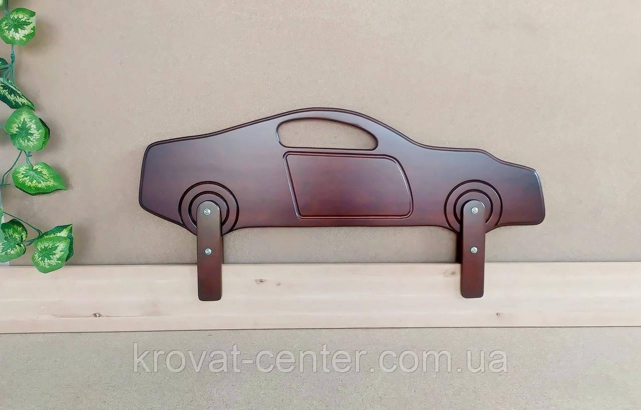 """Бортик захисний для дитячого ліжка """"Машинка Ferrari"""" (колір на вибір) 90 див."""