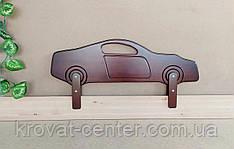 """Бортик деревянный для детской кровати """"Машинка""""  (цвет на выбор) 90 см."""