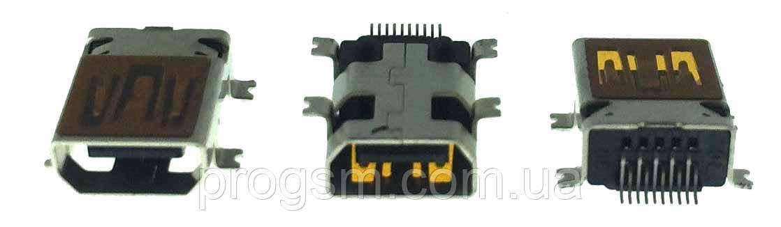 Разъем зарядки Fly DS105 (10 pin) / China Mobile / S-Tell
