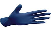 Перчатки нитриловые неопудренные Nytrilex basic, размер S.  (200 шт)