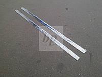 Молдинг стекла (стекольный хром) Mercedes-benz vito (w639) (мерседес-бенц вито) 2004г+