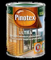Pinotex Ultra 1 л  Высокоэффективная защитная пропитка для древесины  с добавлением УФ-фильтра