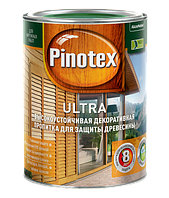 Pinotex Ultra 3 л  Высокоэффективная защитная пропитка для древесины  с добавлением УФ-фильтра
