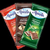 Шоколад «Alpinella» (Альпинелла): описание, преимущество и где купить в Днепре?