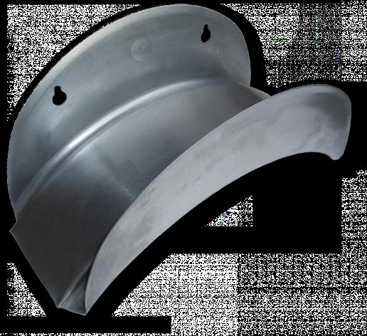 Держатель для шланга, настенный, металлический, ECO-WF114 BRADAS POLAND, фото 2