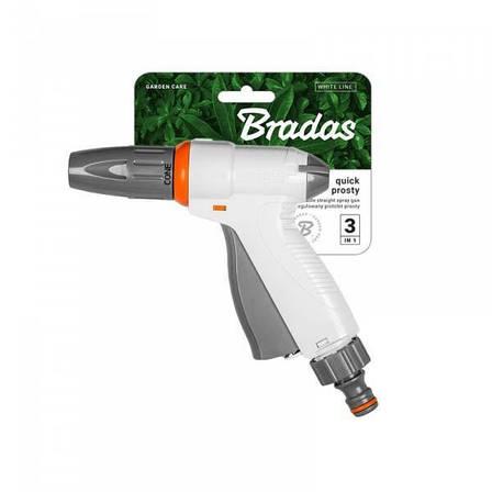 Поливочный пистолет, регулируемый, WHITE LINE, WL-EN6TK BRADAS POLAND, фото 2