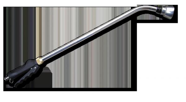 Ороситель ручной ситечко COMFORT 75, с краном, CYNK CHROM, CH-KT430AFT BRADAS POLAND, фото 2