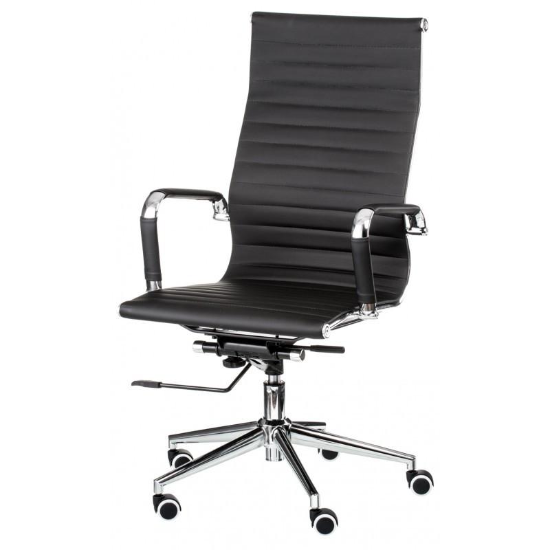 Крісло офісне Special4You Solano artleather black (E0949)