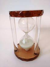 Скляні пісочний годинник 5 хвилин