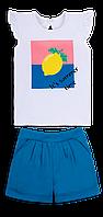Детский летний костюм для девочки *Тутти-Фрутти*