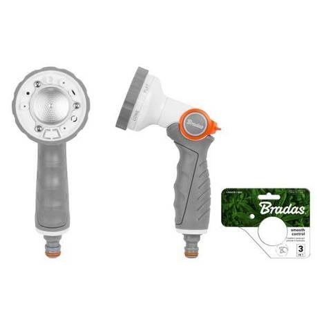 Регулируемый металлический поливочный пистолет. 6 режимов полива, WL-EN41M BRADAS POLAND, фото 2