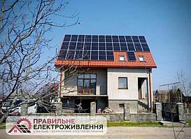 Мережева СЕС 12 кВт у с. Меденичі 1
