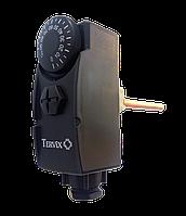 """Термостат погружной 1/2"""" 0-90°С черный с гильзой 100 мм Tervix Pro Line 102010"""