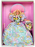 Коллекционная кукла Барби Весенний букет, фото 3