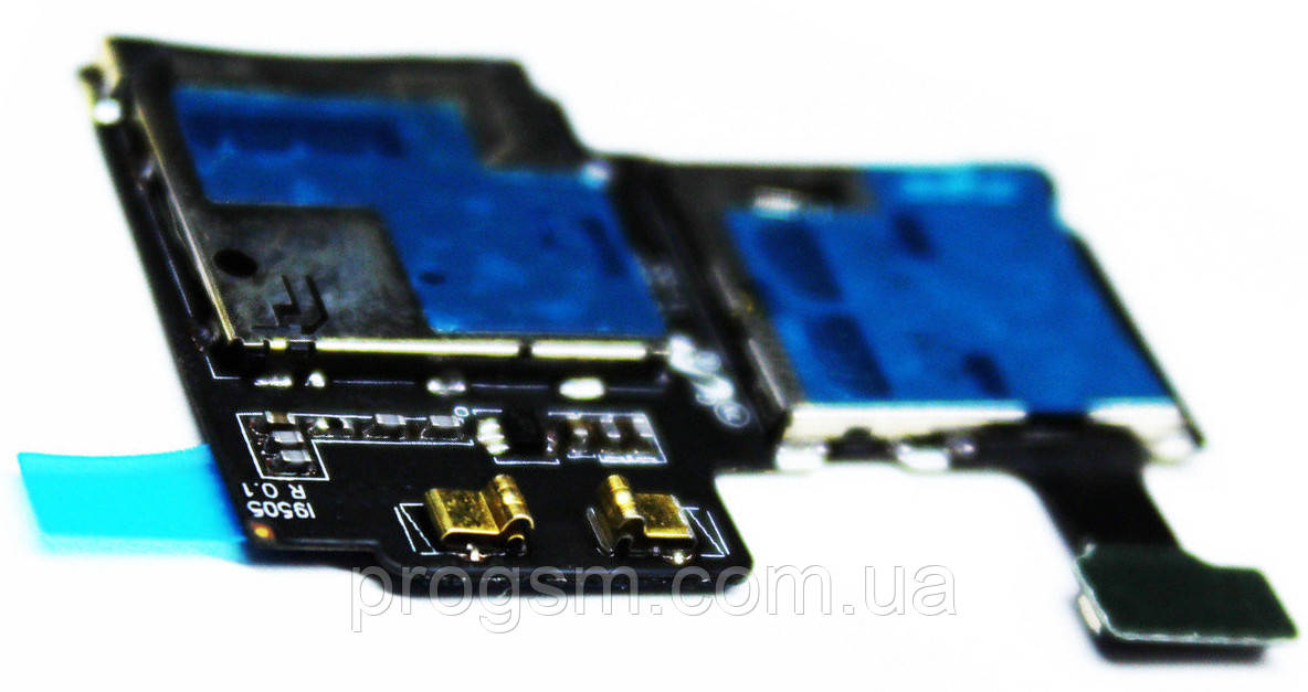 Шлейф Samsung Galaxy S4 GT-I9500 SIM and mmC Original