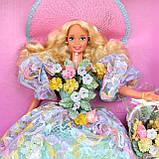Коллекционная кукла Барби Весенний букет, фото 5
