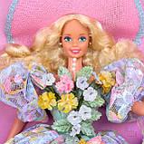 Коллекционная кукла Барби Весенний букет, фото 6