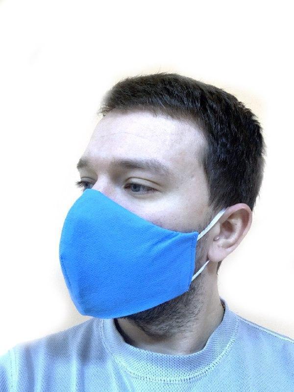 Респираторы маски сертифицированные мужские, 3 шт.