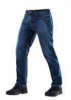 Тактические джинсы темно синего цвета модель 20046015