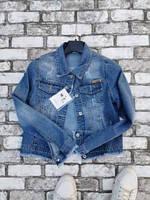 """Куртка джинсовая женская короткая, размеры M-XL """"Zeo Bazic"""" купить недорого от прямого поставщика"""
