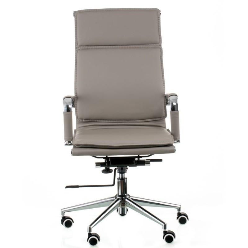 Крісло офісне Special4You Solano 4 artleather grey (E5845)