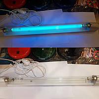 Светильник бактерицидный в сборе лампочка 30 ват G13 Deluxозоновая 90 см.