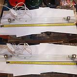 Светильник бактерицидный в сборе лампочка 30 ват G13 Delux озоновая 90 см., фото 4
