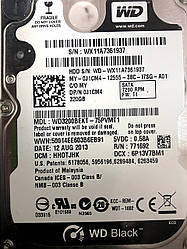 "Жесткие диски2.5"" WD black 320 Gb Sata для ноутбуков Smart 100% бу"